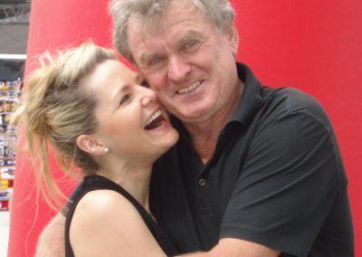 Sabine Altena und Sepp Maier
