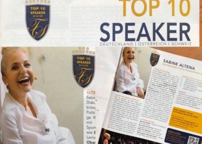 Top 10 Speaker in Deutschland - Sabine Altena